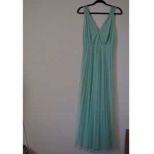ASOS mint gown